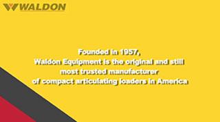 Waldon Equipment History video